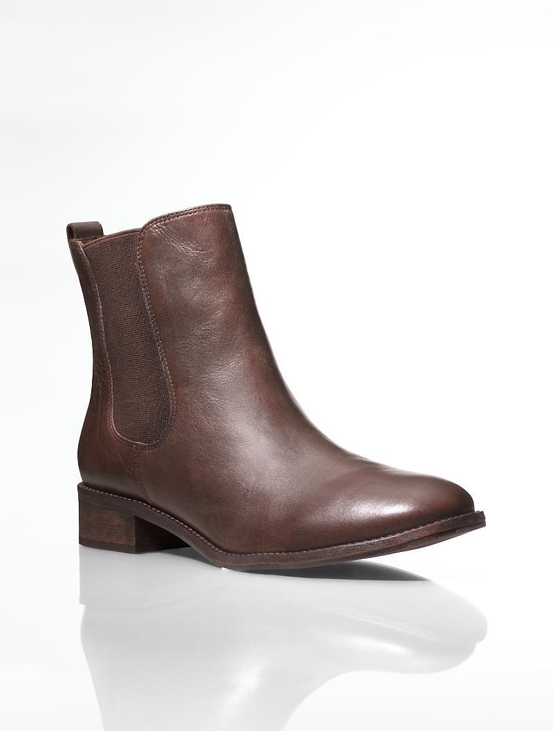 Talbots - Talia Soft Leather Booties