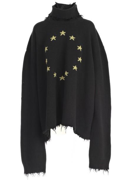 Vetements sweater black