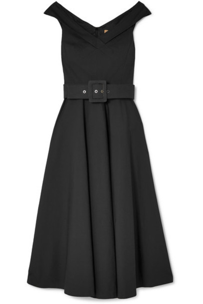 Michael Kors Collection dress cotton black