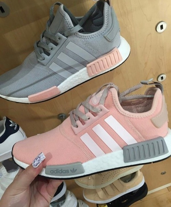 1a776f0f5 Adidas NMD R1 W Grey Vapour Pink Light Onix Women s Nomad Runner BY3058  LIMITED