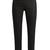 Slim-leg polka-dot print trousers