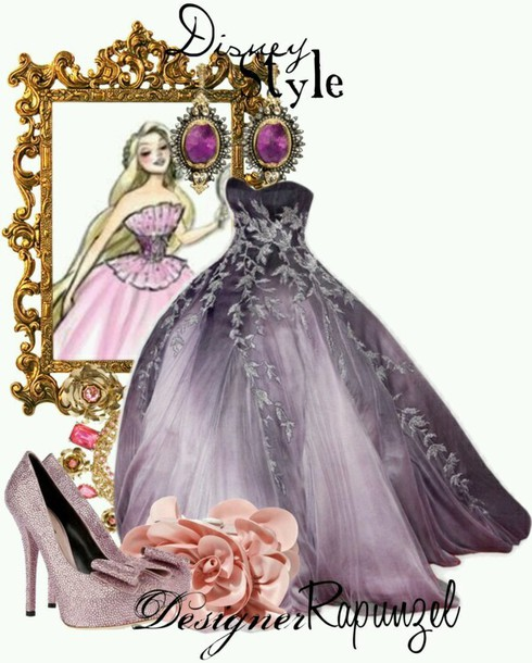 dress purple prom dresses