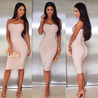 dress overknee bandage dress bandage dress strapless bandage dress