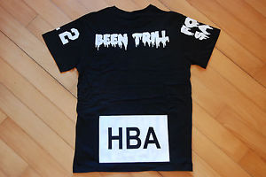 100 Authentic HBA Hood by Air x BEEN Trill Kanye West Pyrex Yeezy Black Tee S | eBay