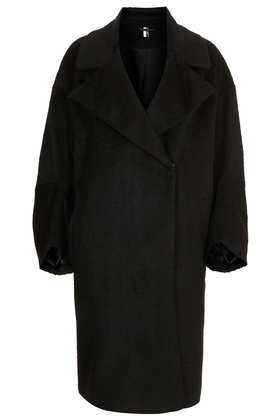 Premium Oversized Throw Coat - Jackets & Coats  - Clothing  - Topshop