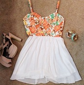skirt,clothes,floral,floral tank top,high low,peach,white skirt,cute,girly,gorgeous,mint,summer,blouse,shirt,dress,amazying,shoes,cute dress,floral dress,prom dress,prom,bandoo,summer outfits,summer dress,wedges,fliegers,bunt,top,flowy skirt,skater skirt,crop tops