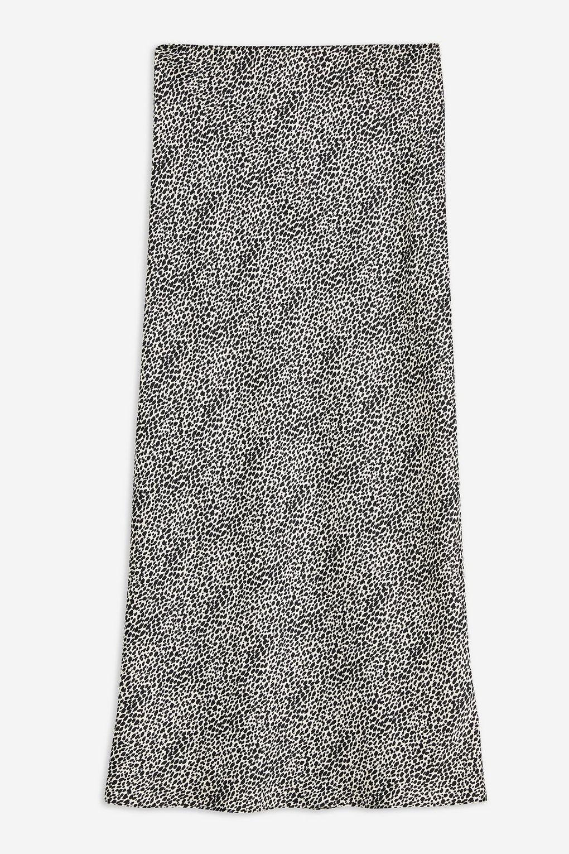 Spot Animal Bias Midi Skirt - Skirts - Clothing