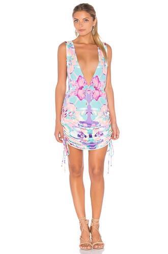 cover up pink swimwear