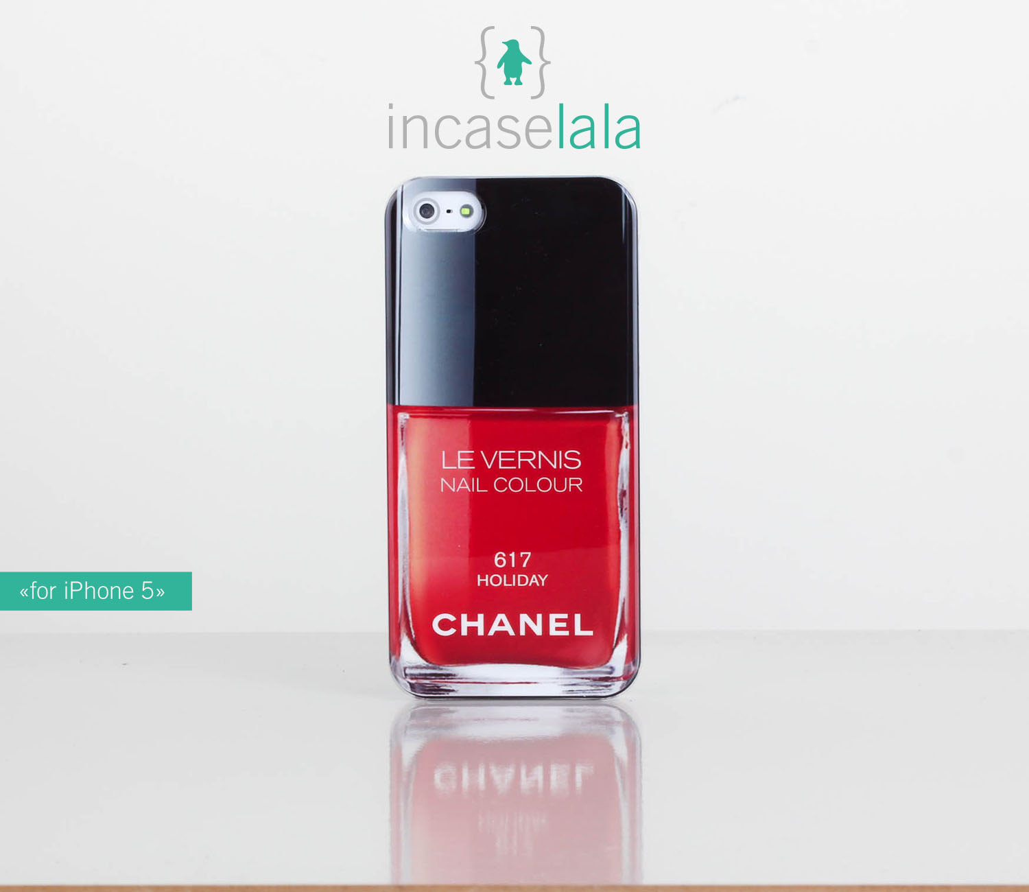 5 4/4S case - Chanel nail polish iphone case from ColorLife on Storenvy