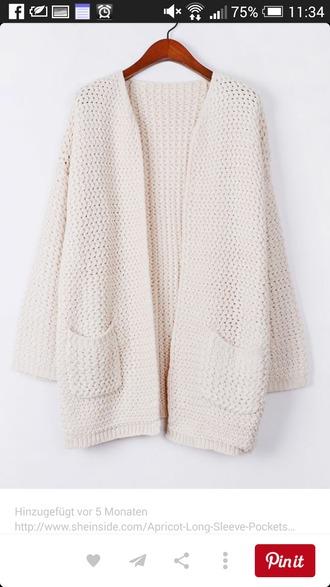 cardigan knitwear knitted cardigan white cardigan