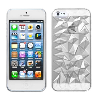 Clear diamond case for apple iphone 5