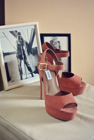 brown high heels high heels classy heels coral