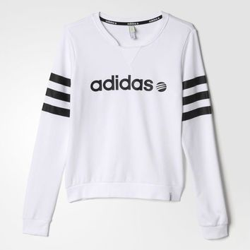 Branded Sweatshirt - White | from adidas