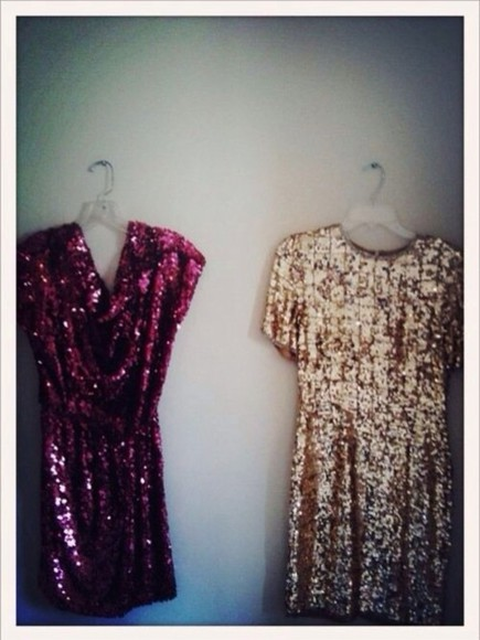 dress new year dress glitter dress gold sparkle dress cute dress purple dress
