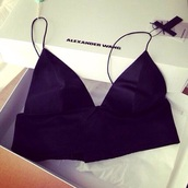 top,silk,black,crop tops,bustier crop top