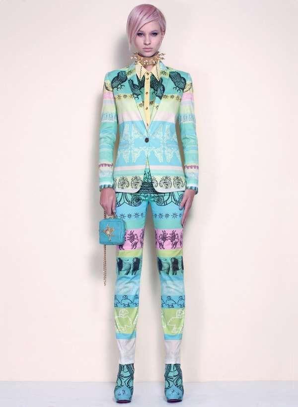 Flamboyant Seapunk Fashions : DORAABODI Spring 2013