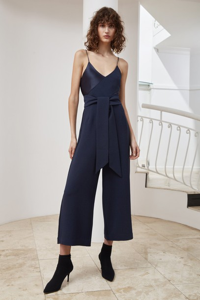 C/MEO COLLECTIVE jumpsuit navy