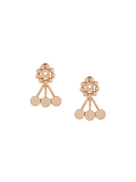 Astley Clarke women earrings silver grey metallic jewels
