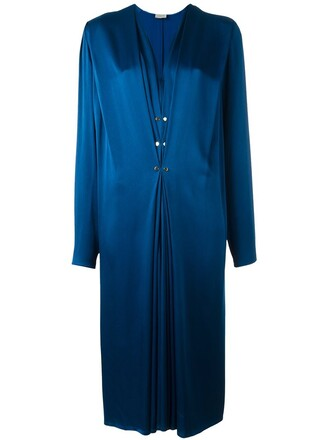 dress maxi dress maxi women blue
