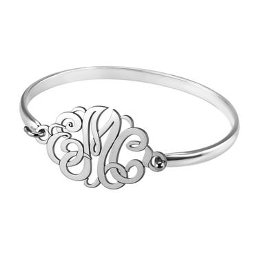 Classic Monogram Bangle (22x33mm) - Item 88031 | Jewelers Wife