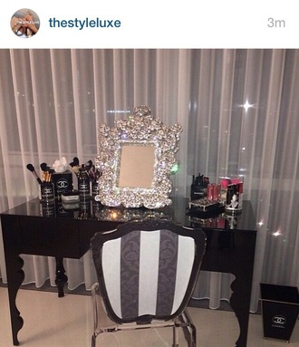 home accessory mirror diamonds luxury