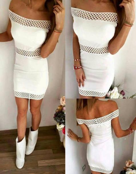 All White Party Dress Tumblr