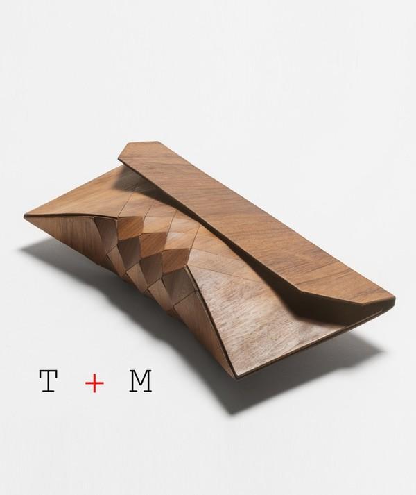 bag wood clutch clutch