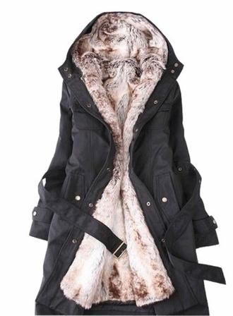 coat fur fur coat