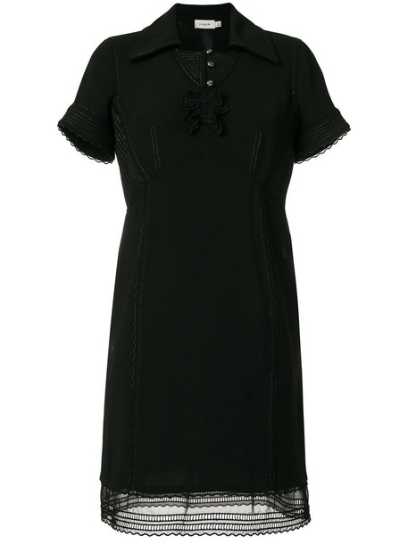 coach dress women black