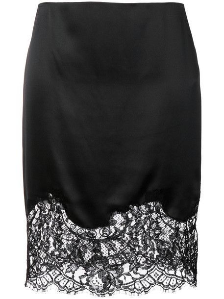skirt mini skirt mini women lace cotton black silk