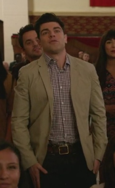 shirt new girl max greenfield schmidt men shirts
