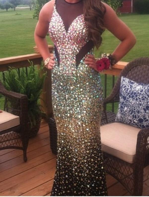 prom dress glamour prom dress
