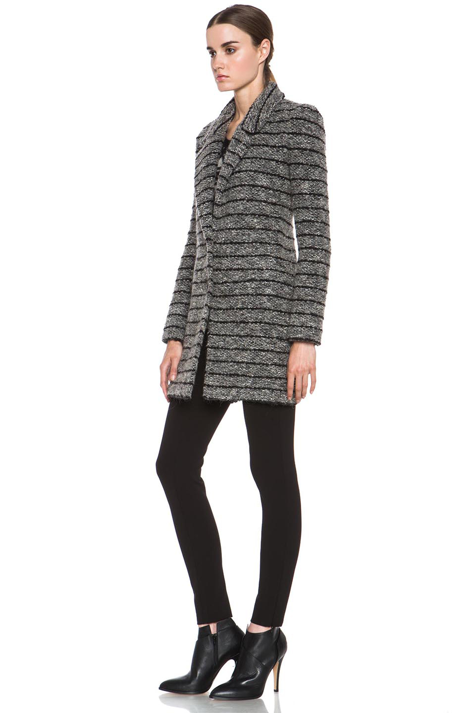 Etoile Isabel Marant|Ifea Cowens Knit Coat in Grey