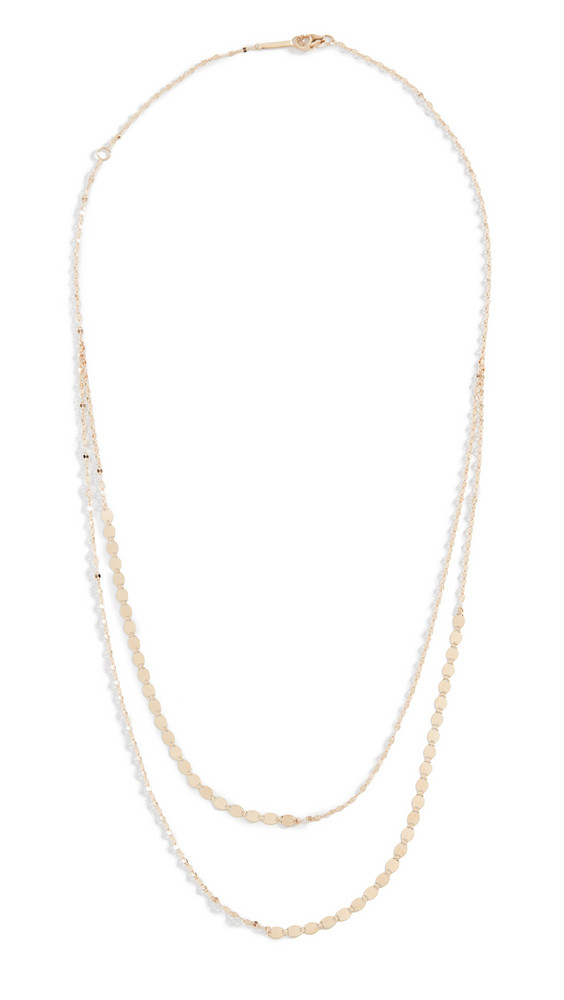 Lana Jewelry 14k Nude Duo Necklace in gold / yellow