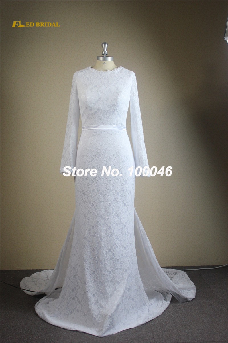 Buy new arrival wedding dress 2016 long for Aliexpress robes de mariage