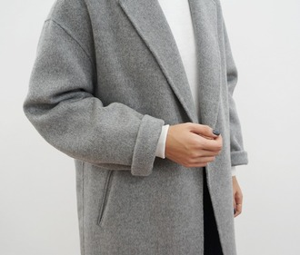 coat cotton jacket spring look grey trenchcoat grey style fashion classic