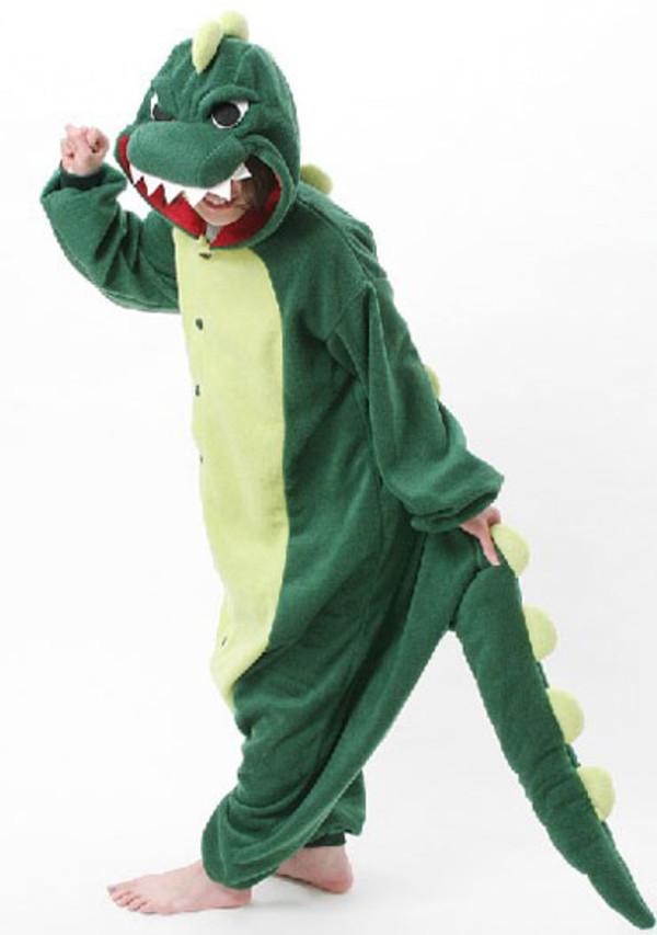 jacket dinosaur kigurumi pajamas