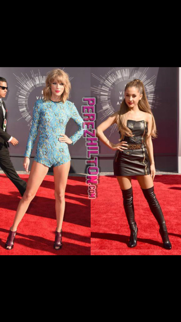ariana grande taylor swift moschino