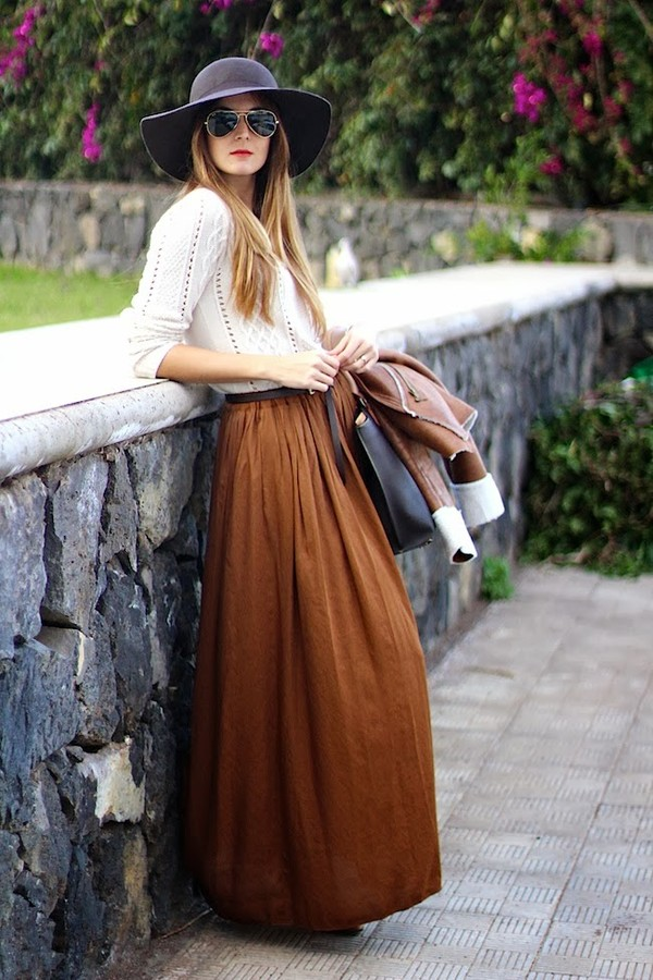 marilyn's closet blog skirt hat bag shoes