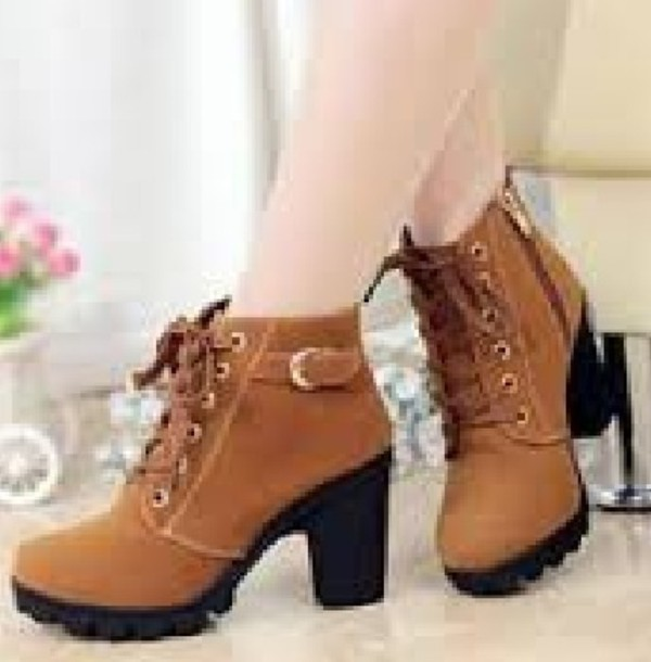 shoes brown shoes brown boots ankle boots tan boots lace up boots cute shoes
