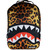 Sprayground Leopard Shark Backpack Black
