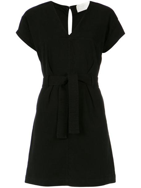 Lilly Sarti dress women spandex cotton black