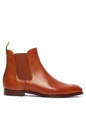 chelsea boots,leather,tan,shoes