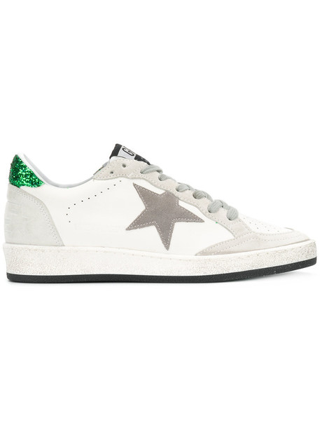 GOLDEN GOOSE DELUXE BRAND women ball sneakers leather white shoes