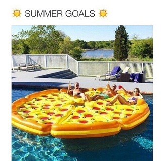 home accessory swimwear floating pizza summer sunglasses party friends instagram pool party pool