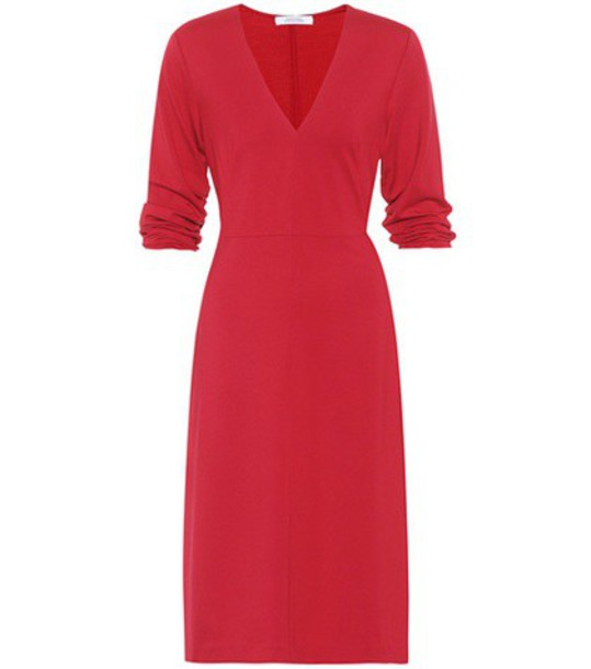 Dorothee Schumacher dress jersey dress chic red