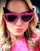 sunglasses,embellished sunglasses,sunnies,embellished