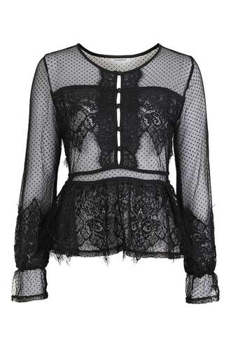 top black top sheer date outfit black lace top black lace transparent