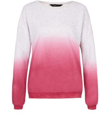 Shell Pink Dip Dye Sweater