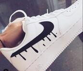 shoes,nike,trippy,drip,nike shoes,nike air force 1